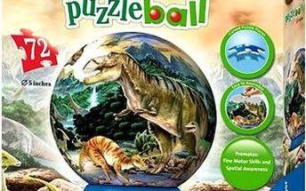 3D Puzzleball - Dinosauři