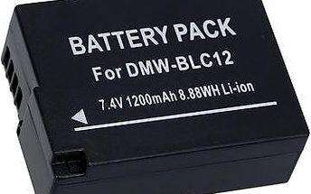 AVACOM za Panasonic DMW-BLC12 Li-ion 7.4V 1200mAh 8.9Wh