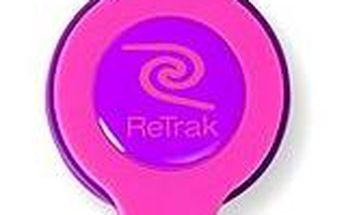 RETRAK audio NEON růžovo-fialové