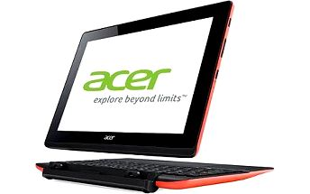 Acer Aspire Switch 10E 64GB + dock s 500GB HDD a klávesnicí Red