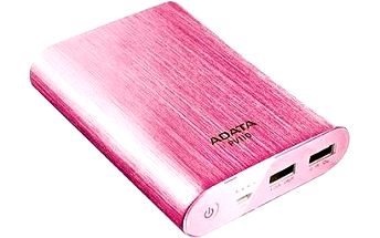 ADATA PV110 Power Bank 10400mAh růžová