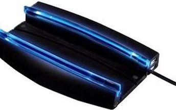 Hama pro PS3 Super Slim s modrým podsvícením