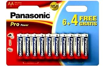 Panasonic Pro Power AA LR6 6+4ks v blistru
