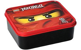 LEGO Ninjago Box na svačinu - červený