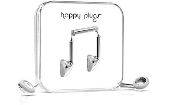 Happy Plugs Earbud Silver