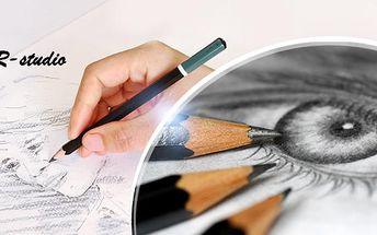 Víkendový kurz kreslení pravou mozkovou hemisférou včetně pomůcek, pro začátečníky i pokročilé! Termíny do října.