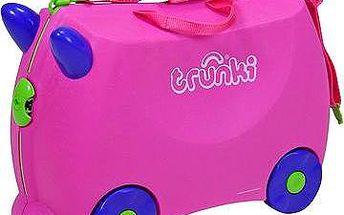 Odrážedlo + kufřík Trixie