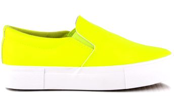 Neonově žluté slipry