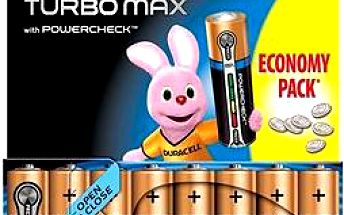 Duracell Turbo Max AAA 8 ks