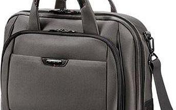 "Samsonite PRO-DLX 4 Laptop Bailhandle L 16"" Magnetic Grey"