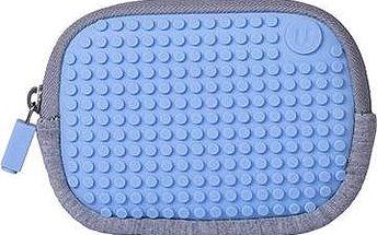 Pixelová kapsička modrá 06