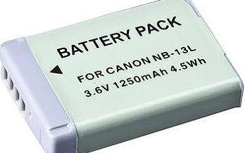 AVACOM za Canon NB-13L Li-Ion 3.6V 1250 mAh 4.5Wh