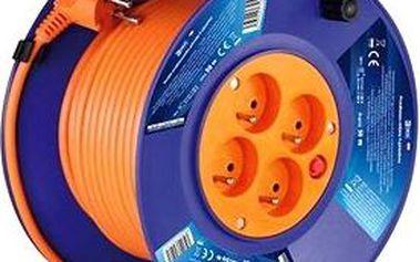 Emos Prodlužovací kabel na bubnu- 4 zásuvky 50m