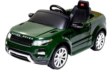 Elektrické auto Rover Gr. zelené