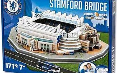 3D Puzzle Nanostad UK - Stamford Bridge fotbalový stadion Chelsea