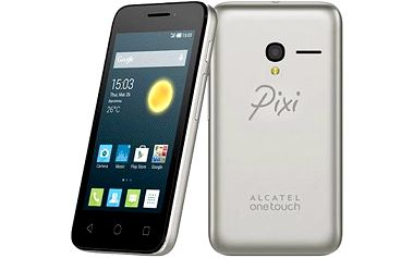ALCATEL ONETOUCH 4027D PIXI 3 (4.5) Silver Dual SIM
