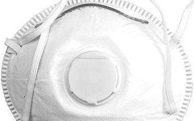 Vorel Maska protiprašná typ CDC3V s ventilem sada 5ks TO-74541