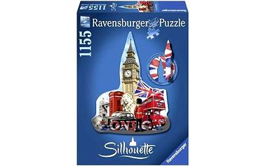 Tvarové Puzzle - Big Ben, London