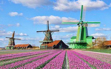 3denní zájezd do Amsterdamu s návštěvou rybářské vesničky pro 1 osobu