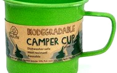 Biodegradable Camper Cup green