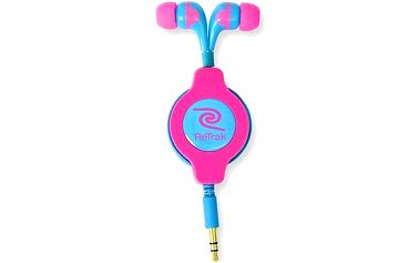 RETRAK audio NEON růžovo-modré