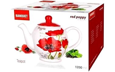 BANQUET RED POPPY A00839