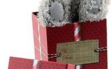 """Medvídek v dárkové krabici """"Me to you"""""""