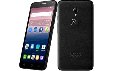 ALCATEL ONETOUCH 5025D POP 3 (5.5) Black Leather Dual SIM