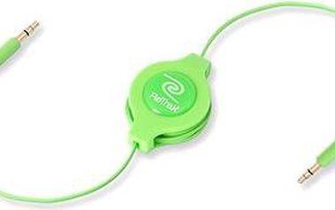 RETRAK audio Jack 3.5mm - Jack 3.5mm zelený