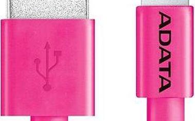 ADATA Lightning MFi 1m růžový