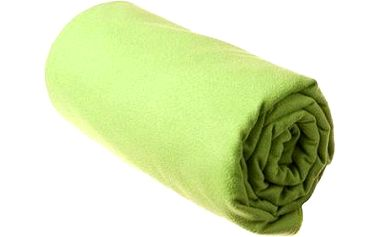 Sea to Summit, DryLite towel antibacterial M Lime