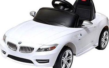 Elektrické auto BMW Z4 bílé