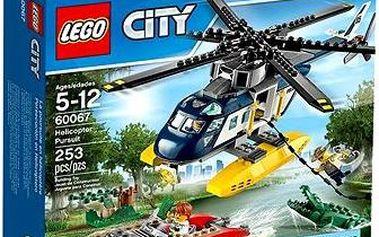 LEGO City 60067 Policie, Pronásledování helikoptérou