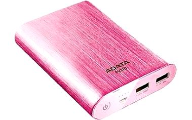 ADATA PV110 Power Bank 10400mAh růžová