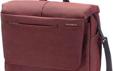 "Samsonite Network 2 Laptop Messenger 16"" červená"