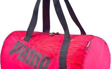 Puma Studio Barrel Bag rose red-fluro peach-p