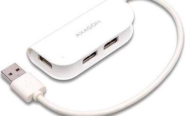 AXAGON HUE-X4 READY bílý