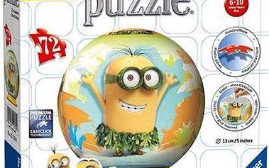 3D Puzzle - Mimoň 72 dílků