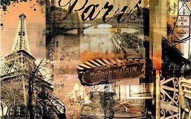 Puzzle Nostalgická Paříž
