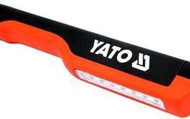 YATO Lampa ruční 8 LED, s klipem, 80 lm