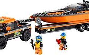 LEGO City 60085 Motorový člun 4x4