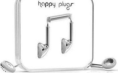Happy Plugs Earbud Silver