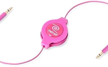 RETRAK audio Jack 3.5mm - Jack 3.5mm růžový