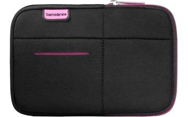 "Samsonite Airglow Sleeves Laptop Sleeve 7"" černo-růžové"