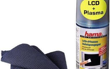 Hama čistící gel pro LCD a Plazma displeje, včetně utěrky
