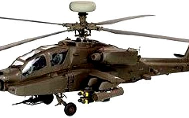 Revell ModelKit Apache AH-64 D Brit. Army/US Army update
