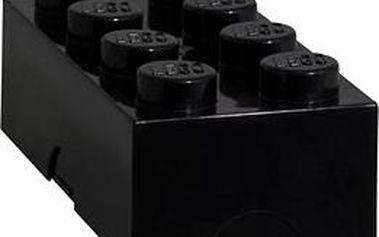 LEGO Box na svačinu 100 x 200 x 75 mm - černý