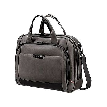 "Samsonite PRO-DLX 4 Laptop Bailhandle L 16"" Magnetic Grey"