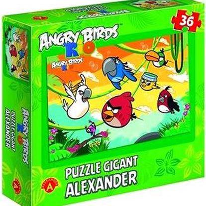Angry Birds Rio - Nahoru gigant 36 dílků