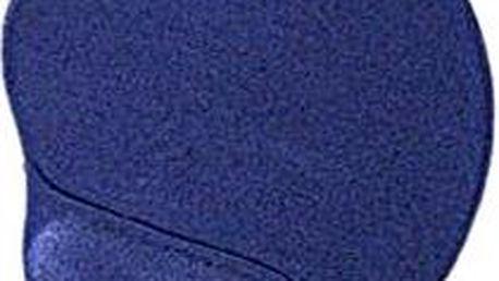 Gembird Ergo gelová, modrá